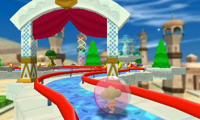Screenshot for Super Monkey Ball 3D on Nintendo 3DS - on Nintendo Wii U, 3DS games review