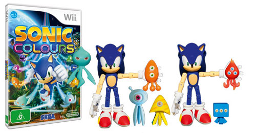 News: More Sonic Colours Wii Details, Screens and Toys ...