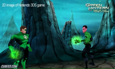 Screenshot for Green Lantern: Rise of the Manhunters on Nintendo 3DS- on Nintendo Wii U, 3DS games review