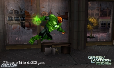 Screenshot for Green Lantern: Rise of the Manhunters on Nintendo 3DS - on Nintendo Wii U, 3DS games review