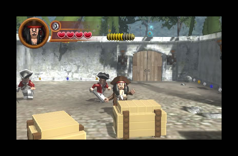 Screenshot for LEGO Pirates of the Caribbean: The Video Game on Nintendo 3DS - on Nintendo Wii U, 3DS games review