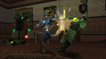 Screenshot for Captain America: Super Soldier on Wii- on Nintendo Wii U, 3DS games review