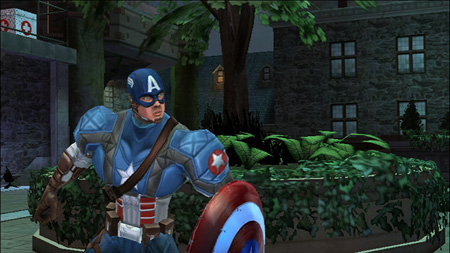 Screenshot for Captain America: Super Soldier on Wii - on Nintendo Wii U, 3DS games review