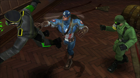 Screenshot for Captain America: Super Soldier on Wii