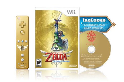 Image for Limited Edition Skyward Sword Bundle Hitting US, Europe