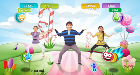 Screenshot for Just Dance Kids on Wii - on Nintendo Wii U, 3DS games review