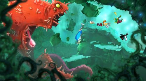 Screenshot for Rayman Origins on Wii- on Nintendo Wii U, 3DS games review