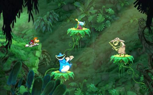 Screenshot for Rayman Origins on Wii - on Nintendo Wii U, 3DS games review
