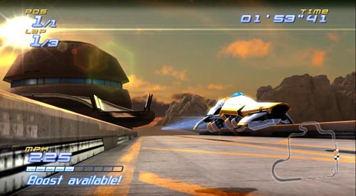 Screenshot for FAST Racing League (Hands-On) on Wii