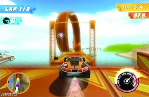 Screenshot for Hot Wheels: Track Attack on Wii