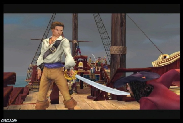 Screenshot for Sid Meier's Pirates! on Wii - on Nintendo Wii U, 3DS games review