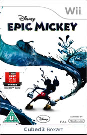 Box art for Disney Epic Mickey