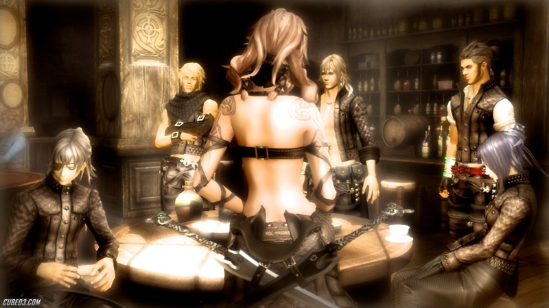 Screenshot for The Last Story on Wii