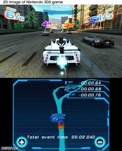 Screenshot for Asphalt 3D on Nintendo 3DS - on Nintendo Wii U, 3DS games review