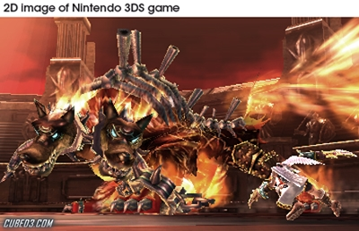 Screenshot for Kid Icarus: Uprising on Nintendo 3DS - on Nintendo Wii U, 3DS games review