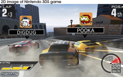 Screenshot for Ridge Racer 3D on Nintendo 3DS - on Nintendo Wii U, 3DS games review