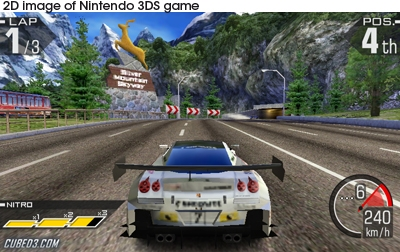 Screenshot for Ridge Racer 3D on Nintendo 3DS- on Nintendo Wii U, 3DS games review