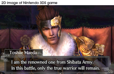 Screenshot for Samurai Warriors Chronicles on Nintendo 3DS - on Nintendo Wii U, 3DS games review