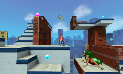 Screenshot for CRUSH3D on Nintendo 3DS - on Nintendo Wii U, 3DS games review