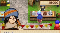 Screenshot for Harvest Moon DS: Grand Bazaar - click to enlarge