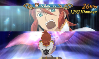 Screenshot for Tales of the Abyss on Nintendo 3DS- on Nintendo Wii U, 3DS games review