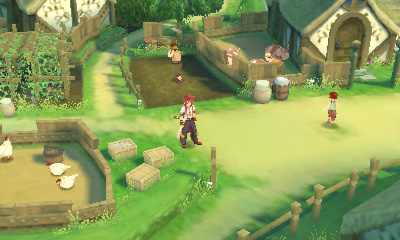 Screenshot for Tales of the Abyss on Nintendo 3DS - on Nintendo Wii U, 3DS games review