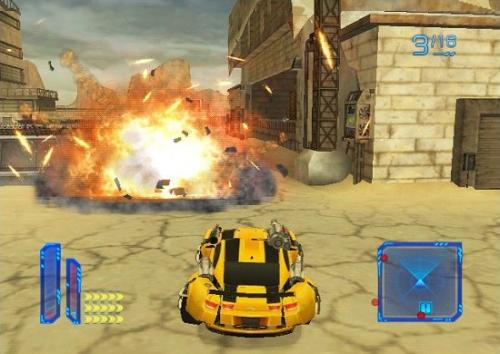 Screenshot for Transformers: Dark of the Moon - Stealth Force Edition on Wii - on Nintendo Wii U, 3DS games review