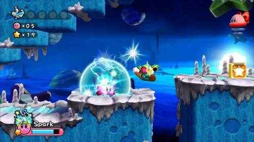 Screenshot for Kirby's Adventure Wii on Wii - on Nintendo Wii U, 3DS games review
