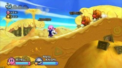 Screenshot for Kirby's Adventure Wii - click to enlarge