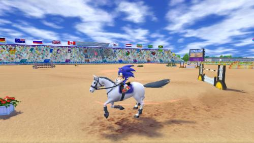 Screenshot for Mario & Sonic at the London 2012 Olympics (Hands-On) on Wii