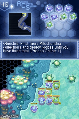 Screenshot for Amoebattle (Hands-On) on Nintendo DS