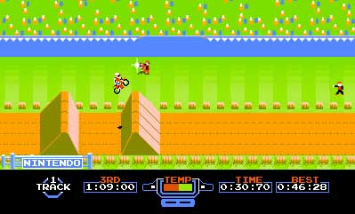 Screenshot for 3D Classics: Excitebike on Nintendo 3DS