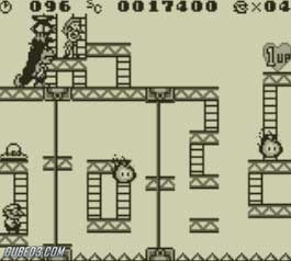 Screenshot for Donkey Kong on Game Boy - on Nintendo Wii U, 3DS games review