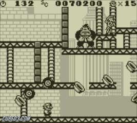 Screenshot for Donkey Kong on Game Boy- on Nintendo Wii U, 3DS games review
