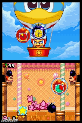 Screenshot for Kirby Mass Attack on Nintendo DS