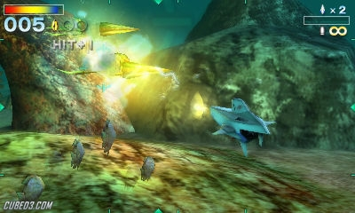 Screenshot for Star Fox 64 3D on Nintendo 3DS - on Nintendo Wii U, 3DS games review
