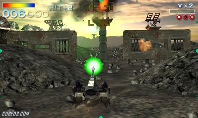 Screenshot for Star Fox 64 3D on Nintendo 3DS- on Nintendo Wii U, 3DS games review