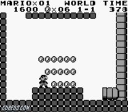 Screenshot for Super Mario Land on Game Boy