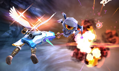 Screenshot for Kid Icarus: Uprising on Nintendo 3DS