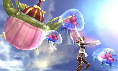Screenshot for Kid Icarus: Uprising on Nintendo 3DS- on Nintendo Wii U, 3DS games review