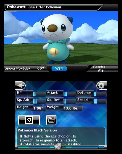 Screenshot for Pokédex 3D on 3DS eShop - on Nintendo Wii U, 3DS games review