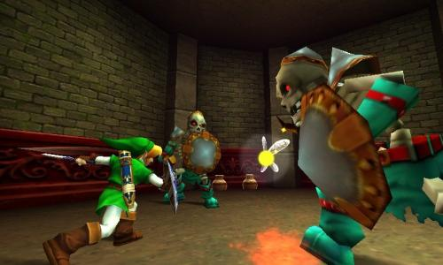 Screenshot for The Legend of Zelda: Ocarina of Time 3D on Nintendo 3DS