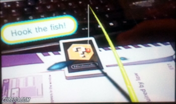 Screenshot for AR Games: Fishing on Nintendo 3DS