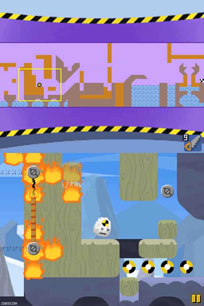 Screenshot for DodoGo! Robo on DSiWare - on Nintendo Wii U, 3DS games review