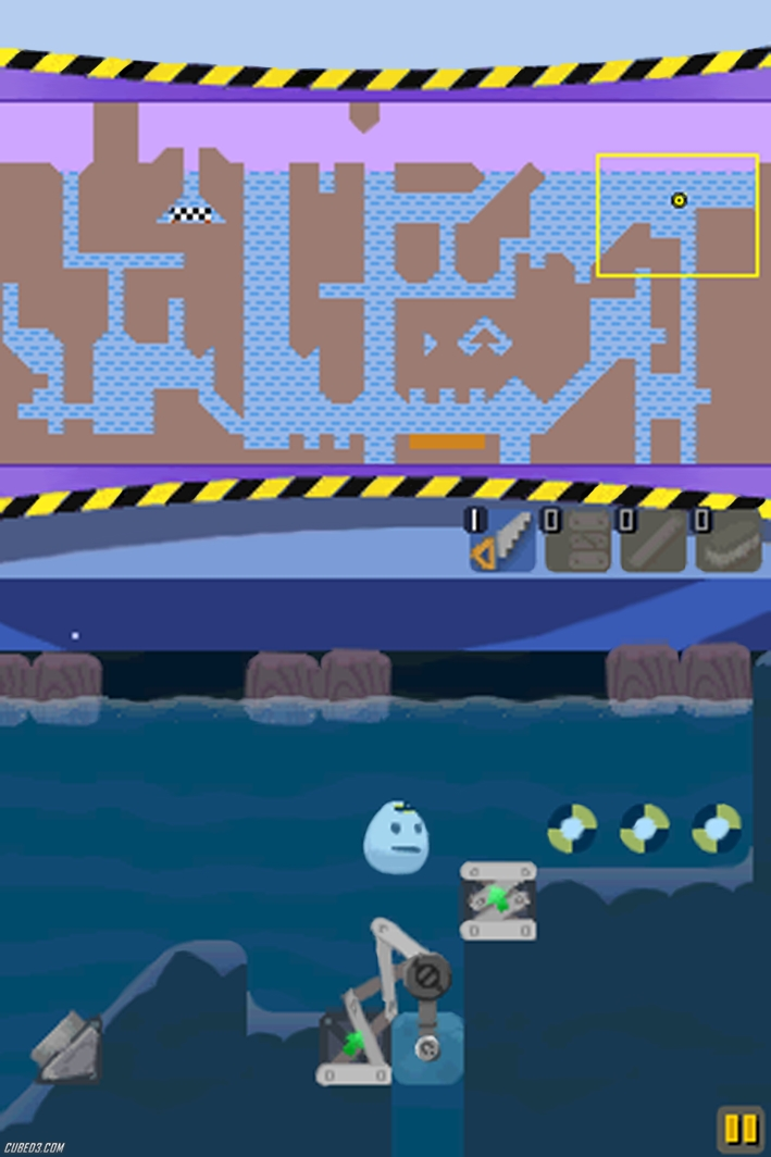 Screenshot for DodoGo! Robo on DSiWare- on Nintendo Wii U, 3DS games review