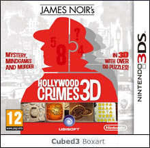 Box art for James Noir's Hollywood Crimes 3D
