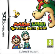Box art for Mario & Luigi: Bowser's Inside Story