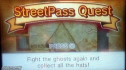 Screenshot for Mii Plaza: StreetPass Quest - click to enlarge