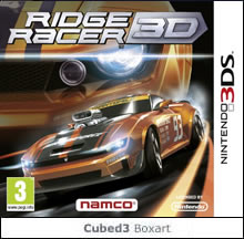 Box art for Ridge Racer 3D