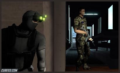 Screenshot for Splinter Cell 3D on Nintendo 3DS- on Nintendo Wii U, 3DS games review